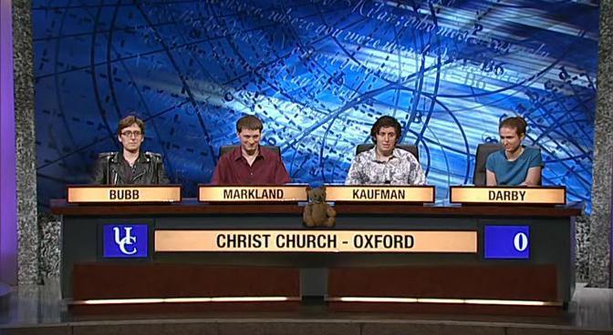 University Challenge (TV Series 1962– ) - University ...